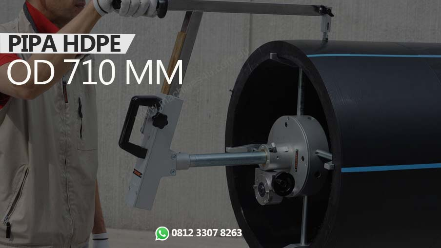 """Pipa HDPE OD 710mm (28"""") http://www.hargapipahdpe.com/"""